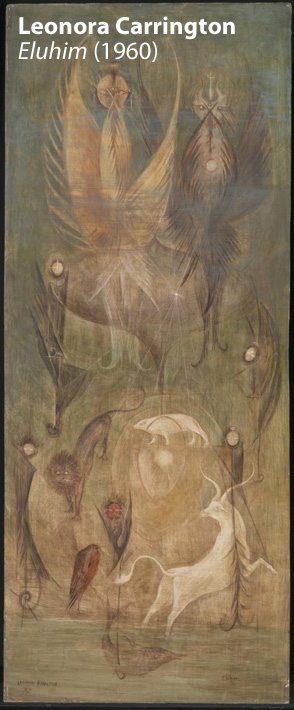 Eluhim 1960 by Leonora Carrington 1917-2011